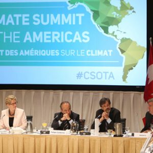 Momentum for action builds at 2015 Climate Summit of the Americas