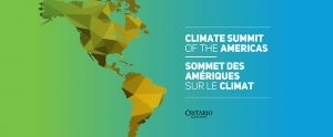 OSPE invited to the Climate Summit of the Americas