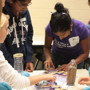Young girl advocates for women in STEM