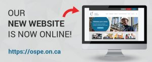 OSPE launches new website & easy-to-navigate member platform