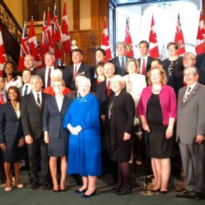 New ministers, new opportunities: OSPE attends swearing-in of Wynne's new cabinet at Queen's Park