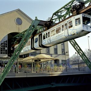 A historic feat of engineering: The Wuppertal Schwebebahn