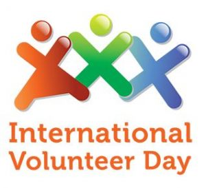 Happy International Volunteer Day!