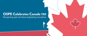 Join OSPE to celebrate #Canada150 throughout 2017