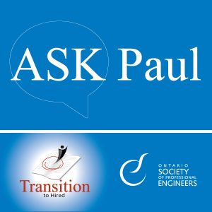 ASK Paul: How do I improve my engineering resume?