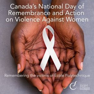Canada's National Day of Remembrance and Action on Violence Against Women