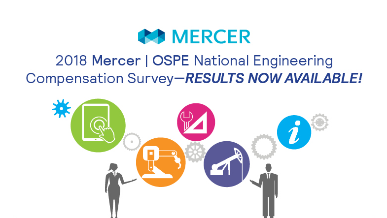 2018 OSPE Mercer Engineering Compensation Survey