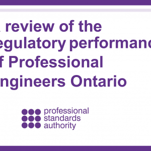 Independent Regulatory Review finds weaknesses in Ontario engineering licensing and registration