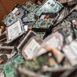 Ones and zeros. Where do they go when you throw away your E-Waste?