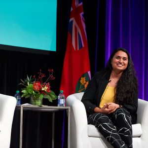 Vanessa Raponi, EIT, wins the OSPE President's Young Professional Volunteer Award