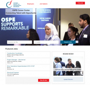 career centre home page