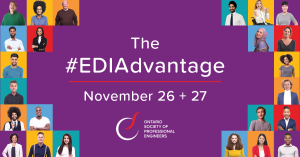 OSPE hosts annual equity, diversity, and inclusion forum The #EDIAdvantage