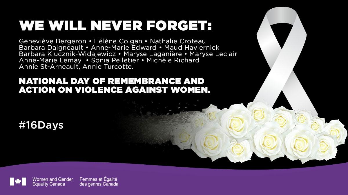 gender based violence montreal december 6