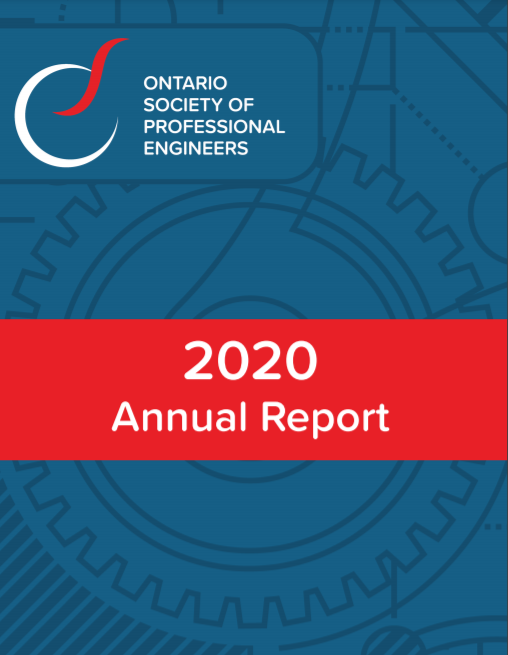 Ontario Society of Professional Engineers - 2020 Annual Report